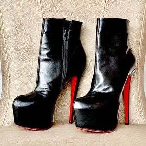 Christian Louboutin Shoes - 💯🆑 DAFS BOOTY 160 ANKLE BOOTS BLACK EURO 38 1/2